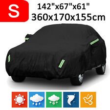 Small 420D Oxford Car Cover Waterproof Scratch Dust Outdoor Protection For Hatch
