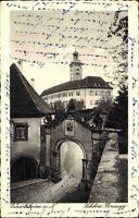 Gundelsheim 1931 Schloss Hornegg Horneck Burg Deutscher Orden Burgenstraße Tor