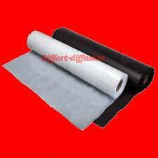 Bobine rouleau film palette étirable transparent / noir 45cmx300m 17 µ 23 micron
