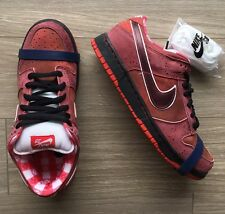 NEW Nike Dunk Low SB Red Lobster RARE AIR max 1 skunk Cncpts Size 9.5 DS