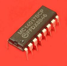 CIRCUIT INTEGRE CMOS MC14017BCP MOTOROLA COMPTEUR DIVISEUR DECIMAL VINTAGE DIP16