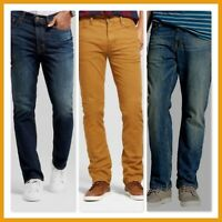 NEW *MOSSIMO Total Flex STRAIGHT FIT JEANS 3 Colors REGULAR and BIG & TALL SIZES