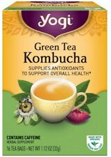 Yogi Tea Kombucha Green Tea 16 ea