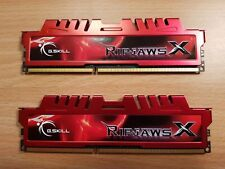 2x8GB= 16GB G.Skill DDR3 PC3-12800 1600MHz RipjawsX Series for Intel/AMD CL10