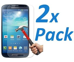 2x BALLISTIC PREMIUM REAL TEMPERED GLASS SCREEN PROTECTOR FOR SAMSUNG GALAXY S4