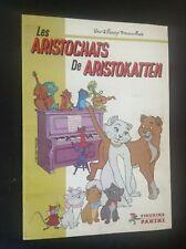 Album autocollants Vignettes Panini Les Aristochats Complet TRES TRES BON ETAT
