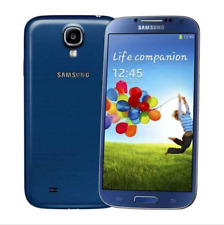 "Blue Unlocked Samsung Galaxy S4 GT-I9500 5"" Android 16GB 13.0MP WIFI Smartphone"