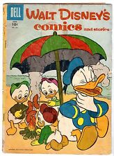 Walt Disney's Comics and Stories #201, Good - Very Good Condition*