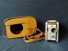 Vintage Kodak Brownie 8mm Movie Camera With Field Case