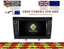AUTORADIO DVD GPS NAVI ANDROID 9.0 DAB+ BT PEUGEOT 408 308 RCZ 2010-11 RD5634B