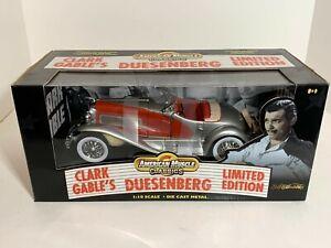 American Muscle Classics RC ERTL 1:18 Clark Gable Duesenberg SSJ limited edition