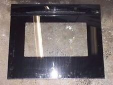 LG OVEN DOOR OUTER BLACK GLASS W/ DECORATIVE DOOR MCR64732602 for LRE3023SB00