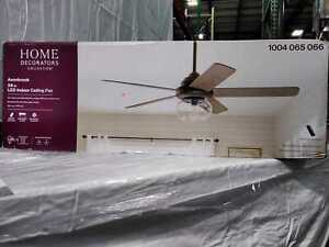 Avonbrook 56 in. LED Bronze Ceiling Fan with Light Kit & Remote Control by  HDC