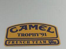 AUTOCOLLANT VINTAGE CAMEL TROPHY 1991