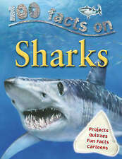 Very Good, 100 Facts Sharks (100 Facts), Steve Parker, Book