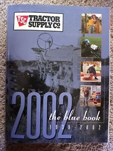 TSC Tractor Supply Co. Catalogs 2002 Blue Book Agricultural Toy Gift Catalog