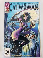 CATWOMAN #1 (1993) DC COMICS KNIGHTFALL UPC! JIM BALENT AMAZING ART!