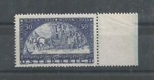 Österreich 1933 WIPA Gewöhnliches Papier vom rechten Bogenrand postfrisch