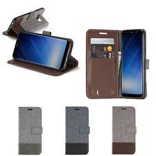 Titolare della carta PU pelle + TPU Custodia Flip Portafoglio Cover Supporto Custodia Per Vari Telefono