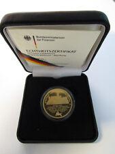 100 € Euro Goldmünze Deutschland 2007 UNESCO - Welterbe - Wartburg *D*
