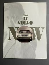 1995 VOLVO 960 Showroom Advertising Sales Brochure RARE Awesome L@@K