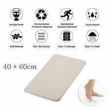 Coral Velvet Memory Foam Rug Bathroom Mat Soft Non-slip Floor Carpet 40x60cm USA