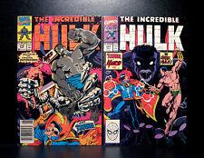 COMICS: Marvel: The Incredible Hulk #370-371 (1990) - RARE