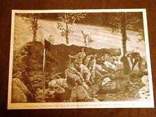 Grandi manovre militari in Italia nel 1887 Assedio di Verona Zappatori luce