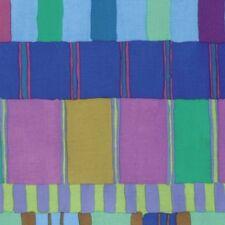Free Spirit Kaffe Fassett Artisan PWKF003.BLUE Blue Layered Stripe COTTON BTY
