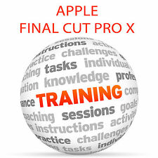 Apple FINAL CUT PRO X 10.3 and 10.4 - Video Training Tutorial DVD