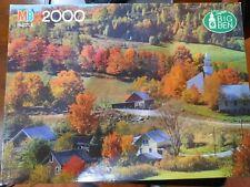 SUPER BIG BEN 2000 piece Jigsaw Puzzle -West Topsham, Vermont by Milton Bradley