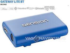 Dension Gateway Lite BT - GBL3AU2 - Audi 1998/2008 - ISO