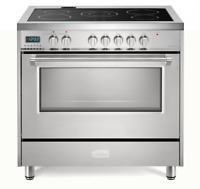 "Verona Designer VDFSEE365SS 36"" Electric Range Oven Convection Stainless Steel"