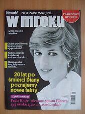 LADY DIANA SPENCER on front cover Polish Magazine W MROKU 1/2017 in.Paula Hitler