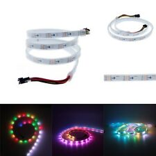 3.2FT 30LED/M 5V WS2813 Dual data New WS2812B 5050 RGB LED Strip SMD IP67 White