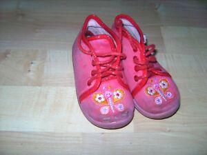 Superfit Baby Mädchen Hausschuhe Kindergarten Rosa Gr 21