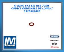 O-RING 6X2 SIL RSS 70SH 5328502800 DE LONGHI ORIGINALE