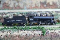 N scale Bachmann Prairie 2-6-2 Steam Locomotive/Tender New York Central #1905 VD