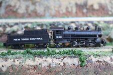 N scale Bachmann Prairie 2-6-2 Steam Locomotive/Tender New York Central #1905 VD