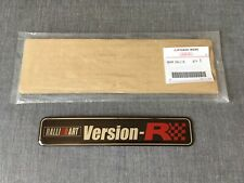 Mitsubishi Genuine Ralliart Version-R Rear Emblem Badge for Colt Ralliart