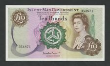 ISLE OF MAN - QEII  £10  1975 Paul  P31b  Uncirculated  ( Banknotes )