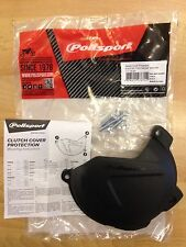 CLUTCH COVER PROTECTOR GUARD FITS KTM  XCFW  EXCF 350  2012-2016  BLACK