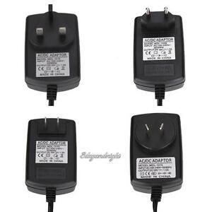 AU/EU/UK/US Plug AC to DC 4.0mmx1.7mm 10V 1.5A Switching Power Supply Adapter