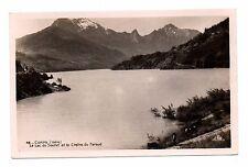 38 - cpsm - CORPS - Lac du Sautet et la chaîne du Faraud  (C1800)
