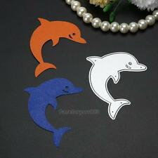 Dolphin Cutting Dies Stencil Scrapbooking Embossing Photo Album Paper Card Craft