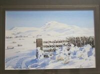 Original Watercolour painting Lake District? by listed artist Henry W Bracken