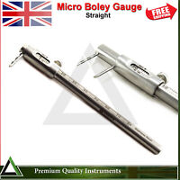 Dental Orthodontic Micro Boley Measurement Gauge Straight Restorative Instrument