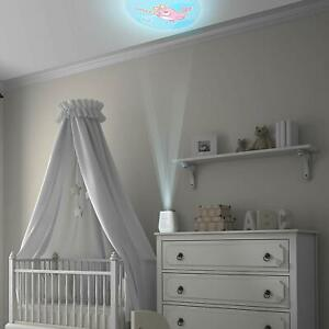 Project Nursery SOOTHING PROJECTOR | NIGHT LIGHT TIMER LULLABIES SOUNDS 9 IMAGES