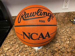Official Rawlings NCAA Game Ball Leather Spalding Basketball TEAM ISSUED Read