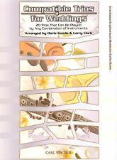 Compatible Trios for Weddings Trombone Bassoon Posaune Fagott Cello Bass Noten
